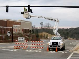 Traffic Light Installation